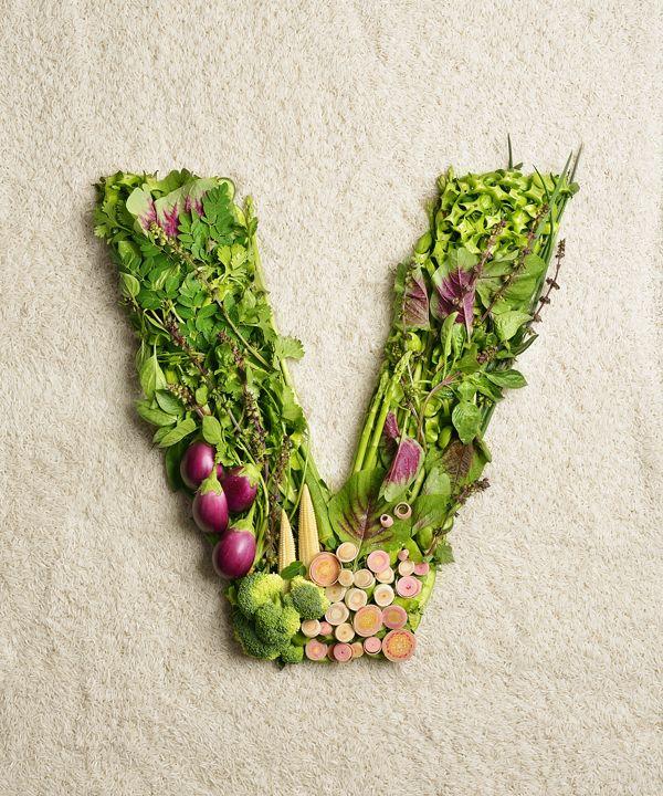The Vegivore Diet by yihmay yap, via Behance