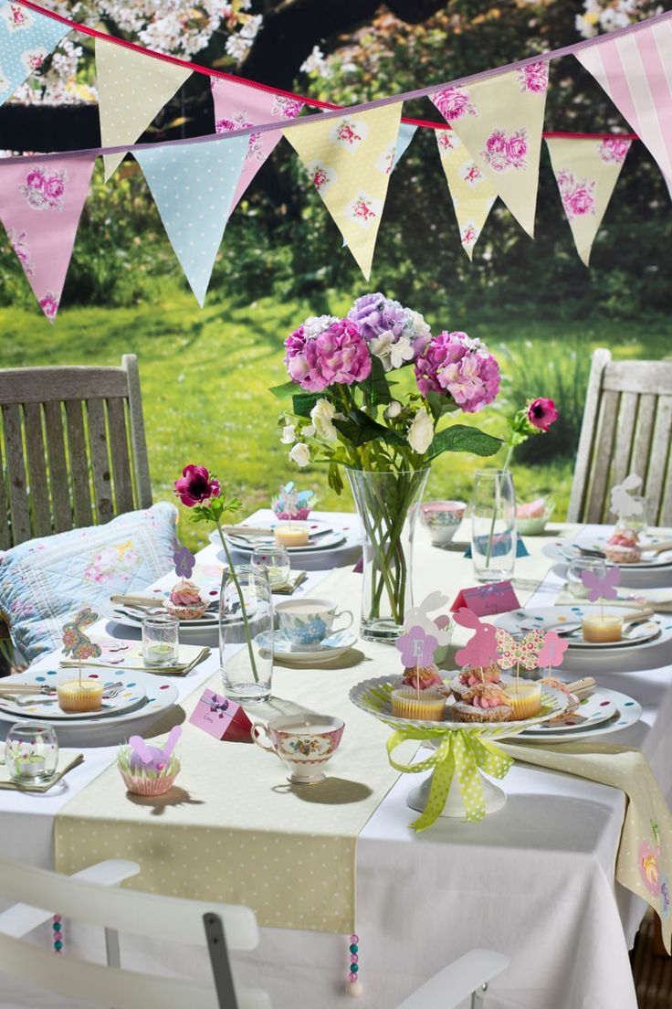 123 best Garden Party images on Pinterest | Garden parties, Tray ...
