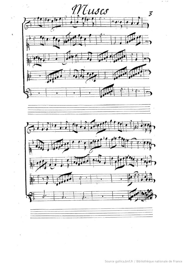 Ballet // des Muses. // dansé devant le Roy a // St Germain en Laye en 1666 // Fait par Mr de Lulli Surintend.t // de la Musique de la Chambre