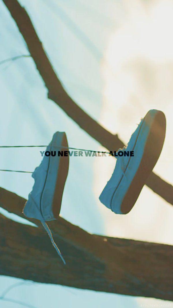 BTS WALLPAPER You Never Walk Alone
