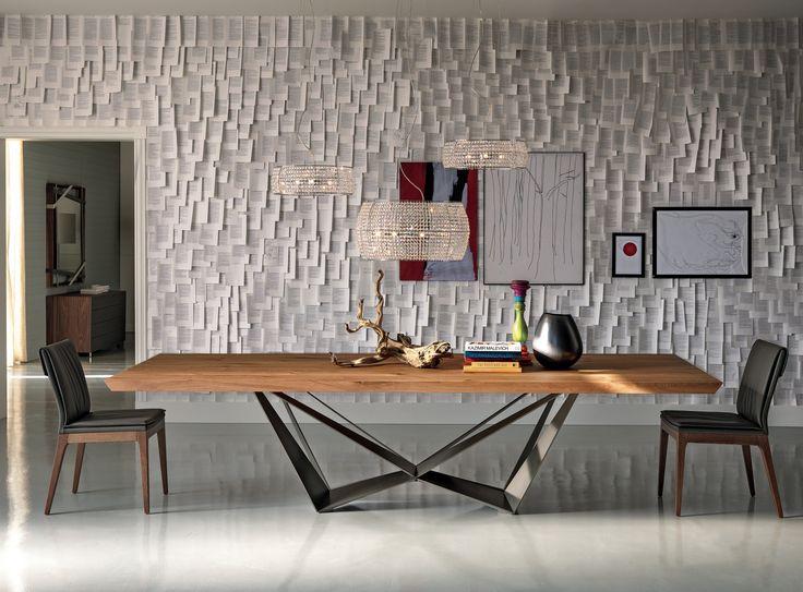 Skorpio Wood table by Cattelan