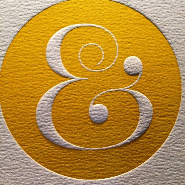Everyone loves an ampersand Frivolous but fun,... | Type Worship