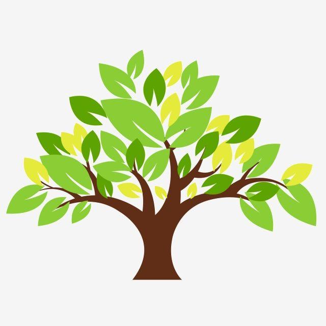 الأوراق الخضراء أشجار الكرتون الأشجار شجرة الأوراق الخضراء الأوراق الصفراء جديدة Png وملف Psd للتحميل مجانا Tree Illustration Illustration Home Decor Decals