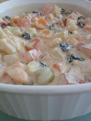 Ensalada de frutas con gelatina