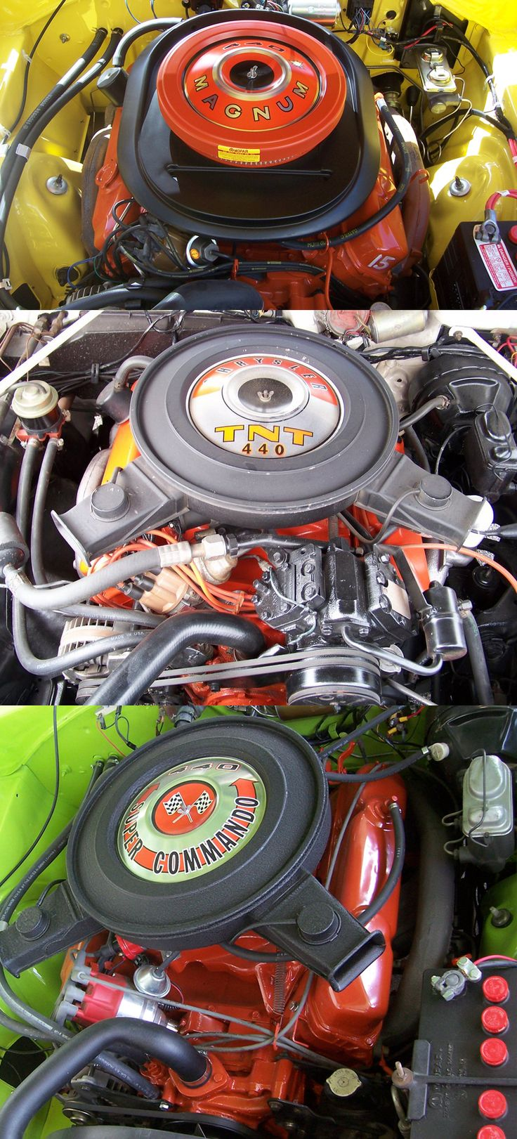 The Mopar 440's