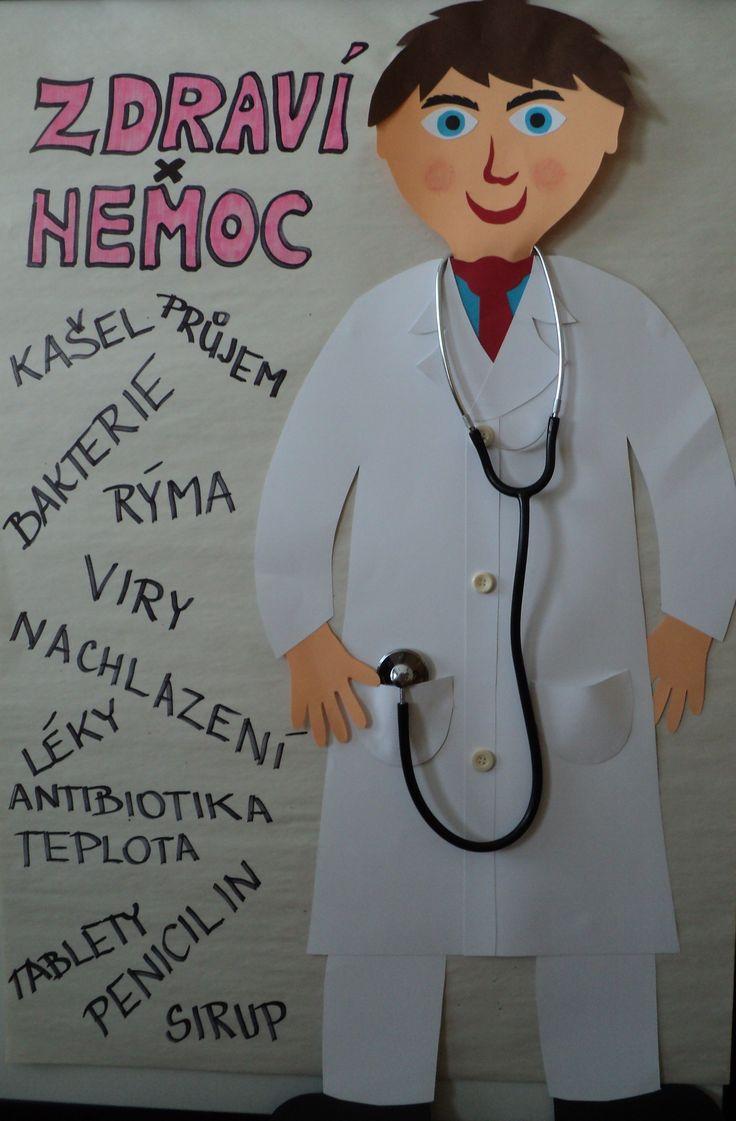 Zdraví - týden aktivit - objevy v medicíně, zdravý životní styl, prevence, ....