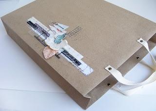 "Чай с корицей: МК ""Бумажный пакет для альбома"""