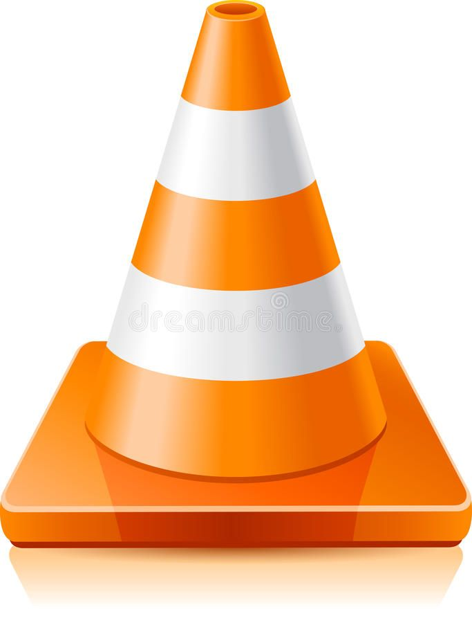 Traffic Cone Vector Illustration Traffic Cone On A White Background Ad Vector Cone Traffic Illustration Background Ad Cones Cone Clip Art