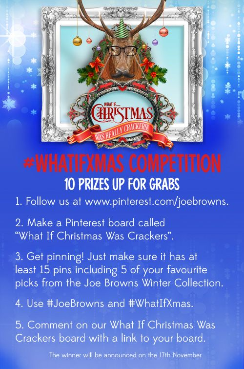 How to enter our What If Xmas Competition for the chance to win some amazing prizes including a luxury holiday to Paris!