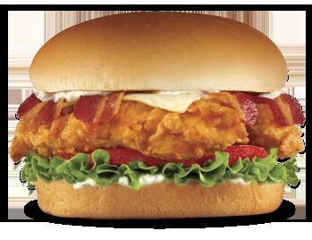 Chicken Tender burger...pure genius.