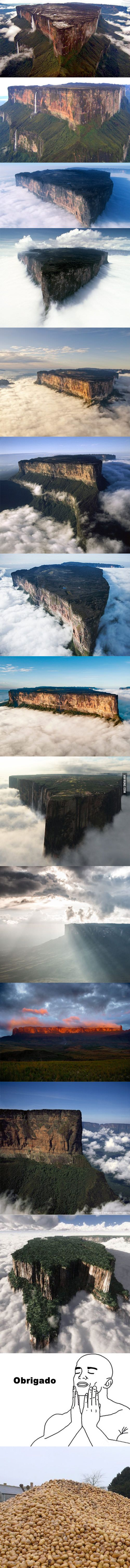 Venezuela, Mount Roraima. Cure for the OCD? - 9GAG