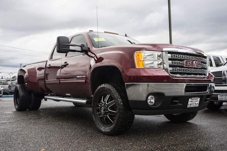 2013 gmc sierra 3500 slt dually 4x4 low mile duramax diesel truck plus custom wheels and its all. Black Bedroom Furniture Sets. Home Design Ideas