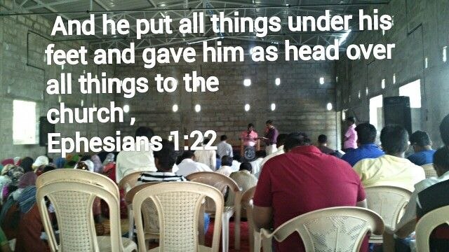 This pic is  our church  . Lord Jesus Christ Helping for us to build church ,  Amen
