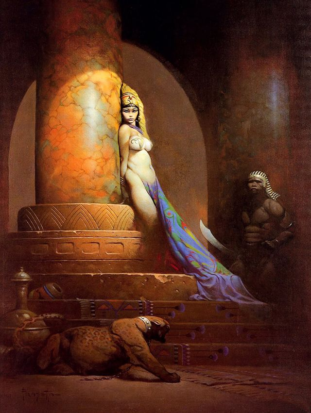 Frazetta's Egyptian Queen