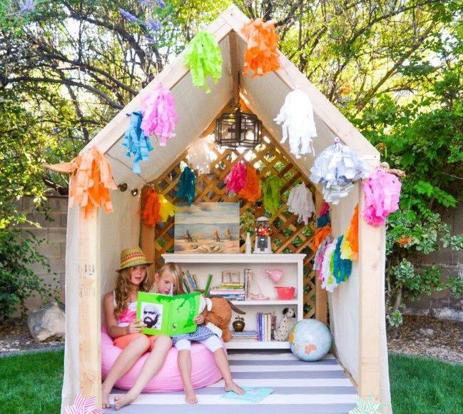 les 25 meilleures id es de la cat gorie cabane pour enfants de jardin sur pinterest maison de. Black Bedroom Furniture Sets. Home Design Ideas