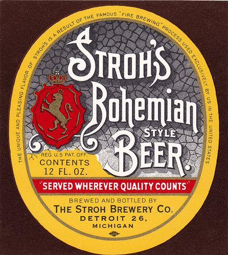 Stroh's Beer | photo