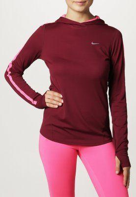 Nike Performance - Topper langermet - rød