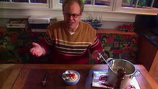 Get this all-star, easy-to-follow Clam Chowder recipe from Alton Brown