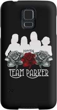 Haven Syfy Inspired Phone Cases/Skins |   Haven Team Parker Sides Of Audrey White Logo | Snap Cases,Tough Cases, & Skins for Galaxy S3-S4-S5-S6-S6 Edge-S6 Edge Plus-S7-S7Edge | iPhone 4s/4 5c/5s/5 6/6Plus SE/5s/5 & iPhone Wallets **All designs available for all models.