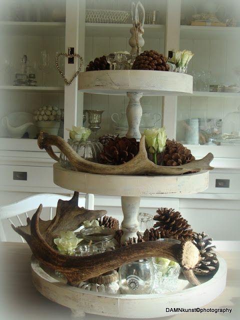8 best etageres images on pinterest cake stands table decorations and trays - Home decoratie ideeen ...