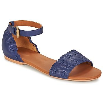 Designed by See by Chloé, this blue design is the ultimate city sandal.   Put your best foot forward this summer! - Colour : Royal / MARINE - Shoes Women £ 209.50