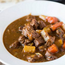 I have made this, and it's awesome for a cold Winter weekend… !!  Guinness Beef Stew Recipe | Brown Eyed Baker