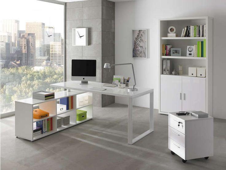 les 20 meilleures id es de la cat gorie bureau blanc conforama sur pinterest. Black Bedroom Furniture Sets. Home Design Ideas