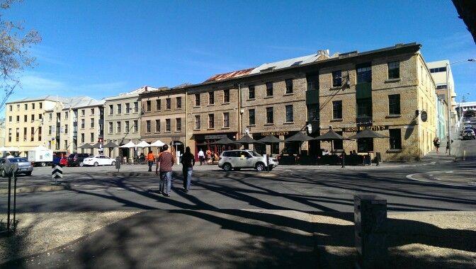 Salamanca, Hobart, Tassie