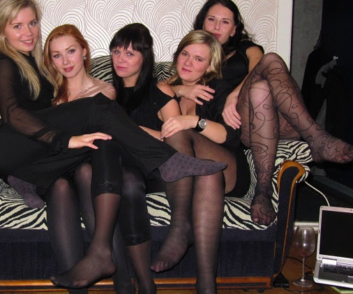 Ladies In Pantyhose From Across 81