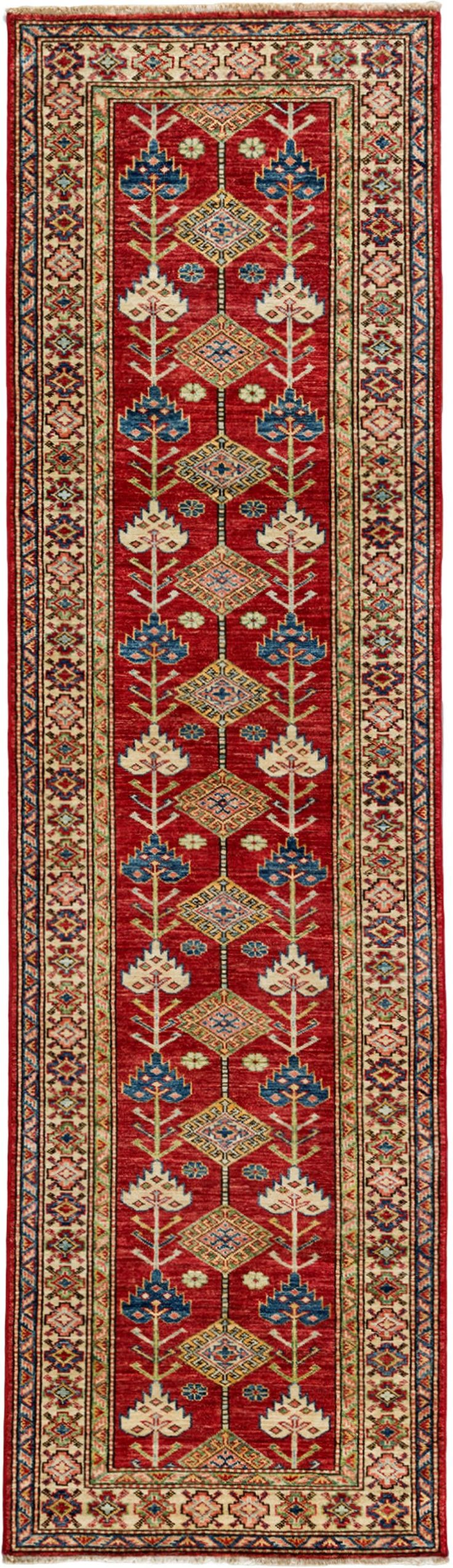 Kazak, Hand Knotted Runner   2 8 X 9 10  Traditional, Wool, New by Solo Rugs