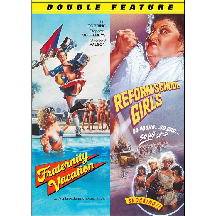 Fraternity Vacation/Reform School Girls [2 Discs]