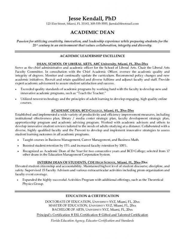 Academic Curriculum Vitae Creativeresumetemplate With Images