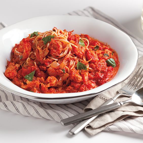 This Creamy Tomato Crawfish Pasta is packed with flavor! Try this recipe for Creole cream cheese.
