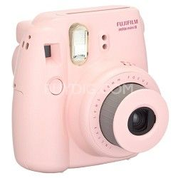 Fujifilm Instax 8 Color Instax Mini 8 Instant Camera - Pink  See Also: http://www.bestbuy.com/site/fujifilm-instax-mini-8-instant-film-camera-blue/1307720684.p?id=mp1307720684&skuId=1307720684