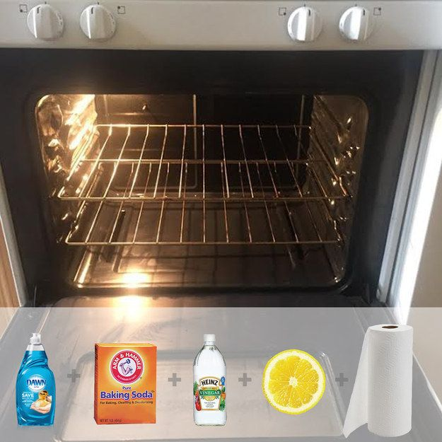 Clean your oven with ingredients you already have in your kitchen.