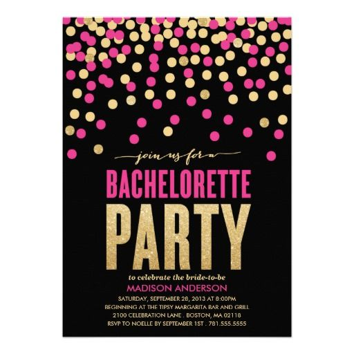The 43 best greeting cards postcards stationery images on shimmer shine bachelorette party invitation fandeluxe Images