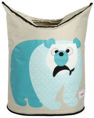 Machiko - a boutique for kids - Polar Bear Laundry Hamper By 3 Sprouts, $44.95 (http://www.machikobaby.com.au/products/polar-bear-laundry-hamper-by-3-sprouts.html)