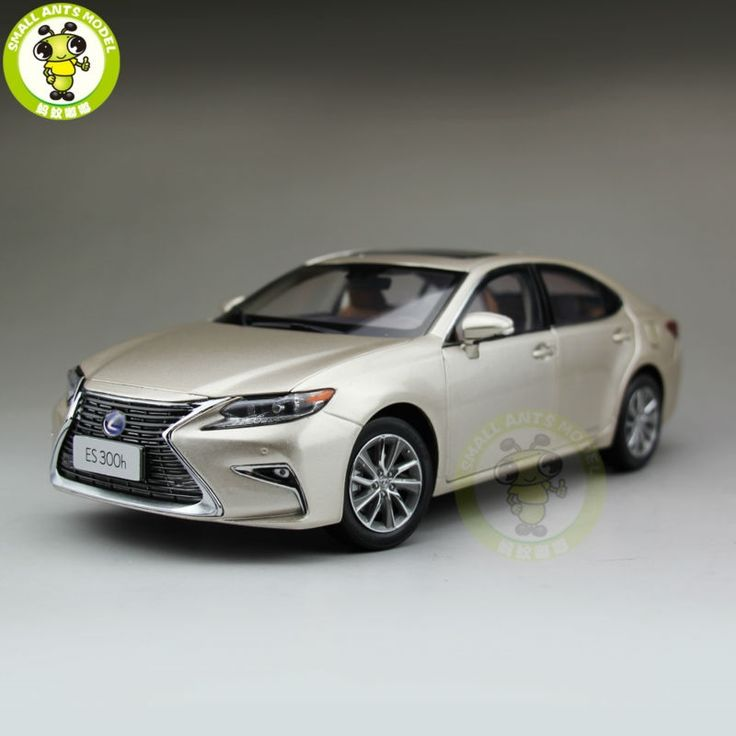 152.00$  Buy now - http://alin6i.worldwells.pw/go.php?t=32703465347 - 1/18 Toyota Lexus ES 300 ES300H Diecast Model Car Suv hobby collection Gifts Gold 152.00$