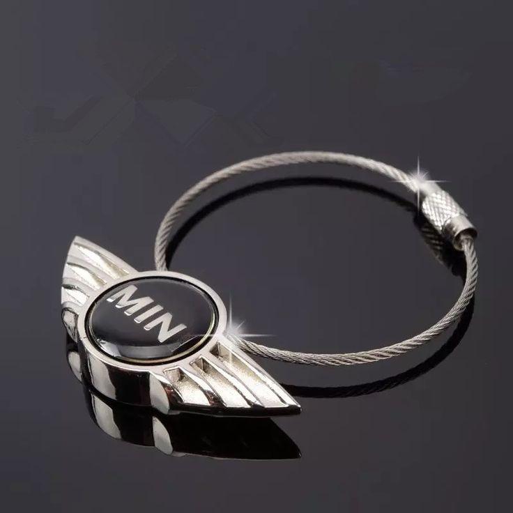 Mini Cooper LOGO Car Key Chain Keychain Key Ring Holder - Carsoda - 1