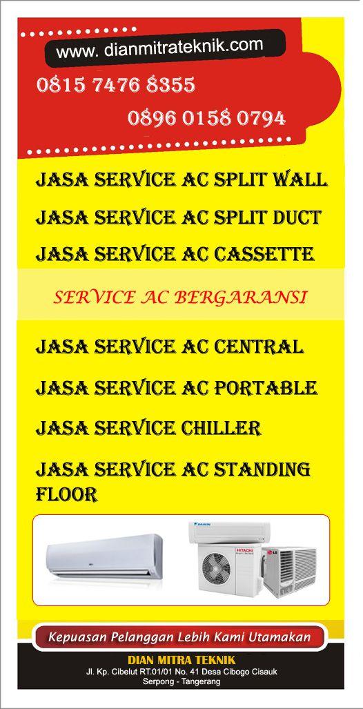 Dian Mitra Teknik melayani jasa service AC di kawasan Tangerang