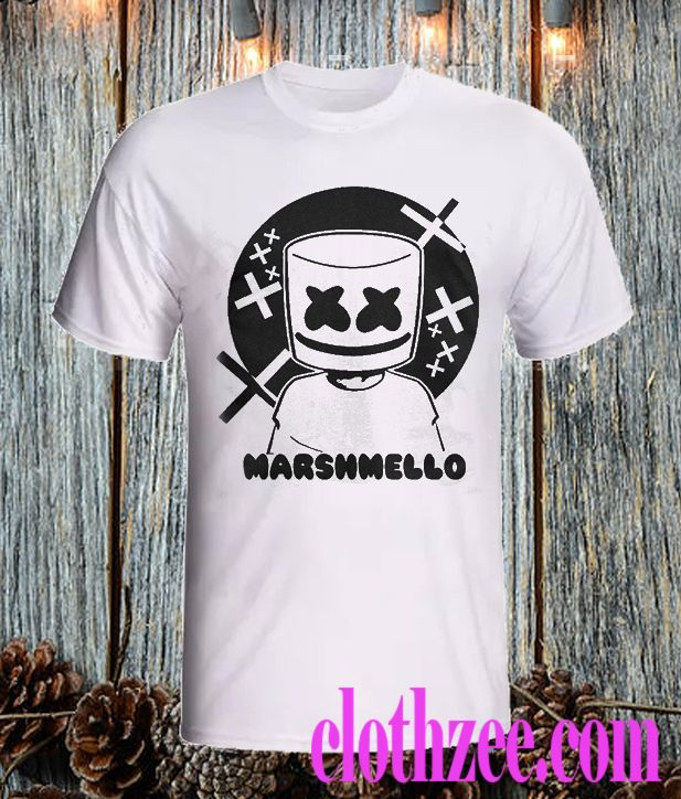 7000a57e DJ Marshmello T Shirt in 2019 | Get in my closet | Shirts, T shirt ...