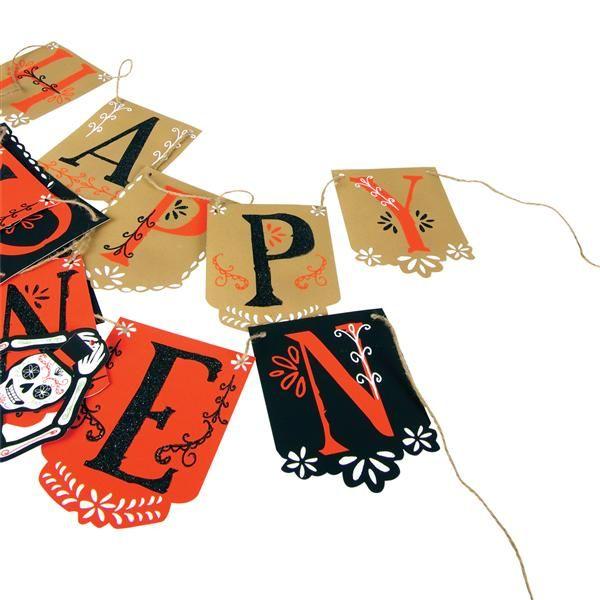 """Happy Halloween"" Ghirlanda"