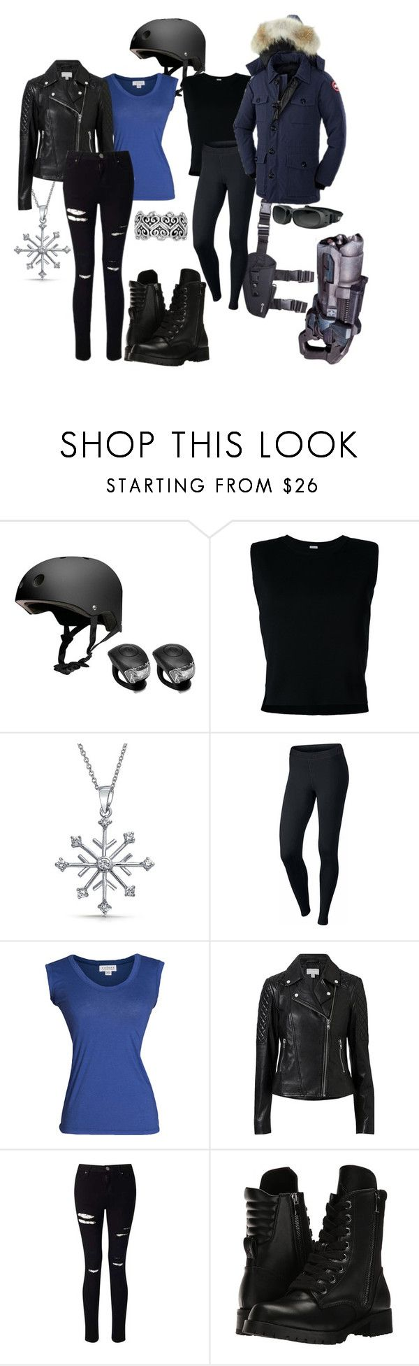 """Leonard Snart/ Captain Cold Genderbend"" by music-books-life ❤ liked on Polyvore featuring Feral, Rito, Bling Jewelry, NIKE, Velvet by Graham & Spencer, Witchery, Miss Selfridge and Capezio"