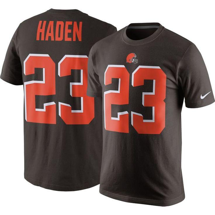 Nike Men's Cleveland Joe Haden #23 Pride Brown T-Shirt, Size: XXL, Team