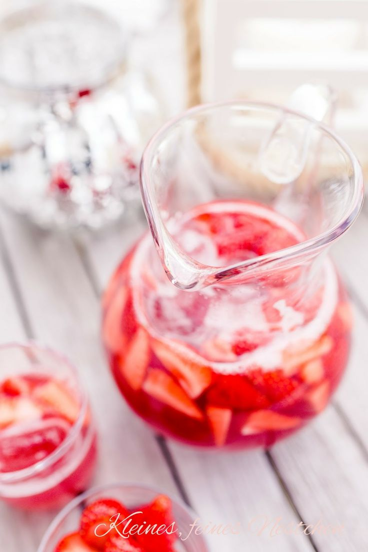 Hibiscus Rhubarb Strawberry Iced tea | Blog kleines feines nestchen ...