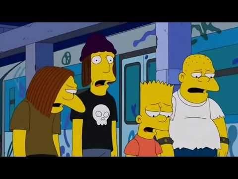 Os Simpsons The Warriors Dublado Youtube Cinema Os