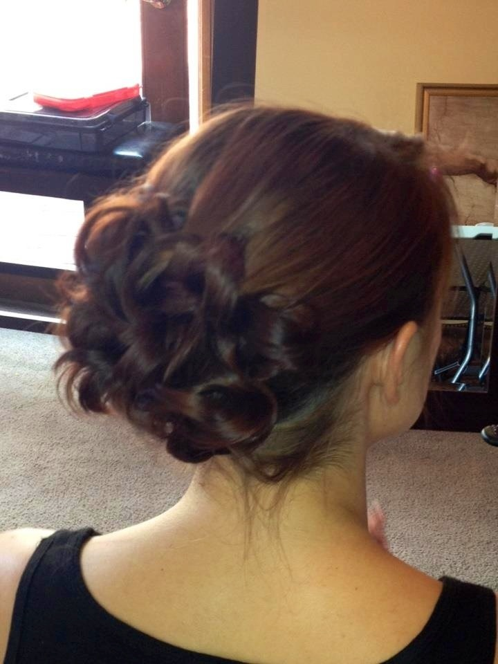 Updo For Medium Length Hair Wooried About My Hairy Neck