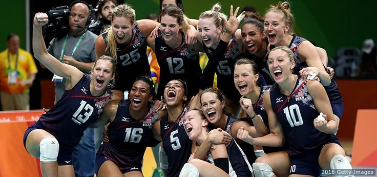 The Best Photos From Rio 2016: Aug. 20 Edition U.S. Women's Volleyball Team