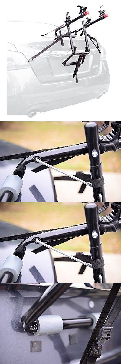 Car and Truck Racks 177849: Allen Sports Deluxe 2 Bike Trunk Mount Bicycle Rack, For Car, Suv, Van -- New -> BUY IT NOW ONLY: $38.57 on eBay!