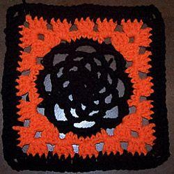 quick and easy halloween crocheting HALLOWEEN AFGHAN ...